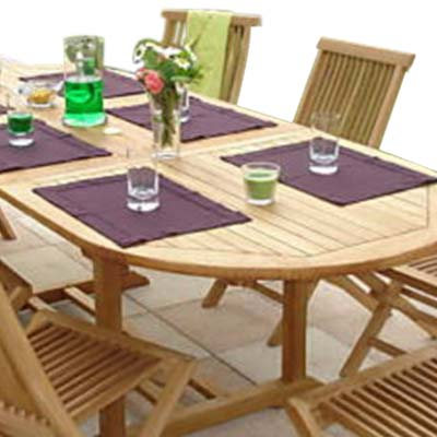set   x   inch oval extension table tb: extension table f